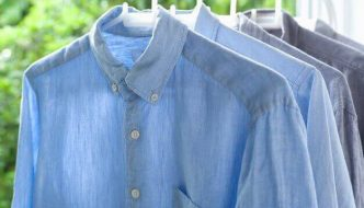 Camisas colgadas